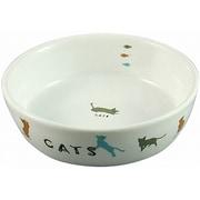 CT-204 [猫用陶器食器遊ぶ猫]