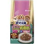 愛犬元気 小型犬低脂肪 ささみ・緑黄色野菜・小魚入り [小型犬用 ドッグフード 1.0kg]