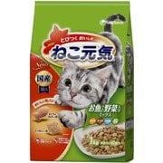 ねこ元気 お魚と野菜入りミックス [猫用 キャットフード 1kg]