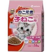 ねこ元気 お魚とお肉ミックス  [健康に育つ子猫用 キャットフード 1.6kg]