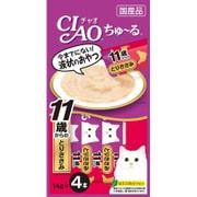 CIAO ちゅ~る [猫用 11歳からのとりささみ 14g×4本]