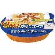 チャオ このままだしスープ ささみ かにかま・かつお節入り 60g