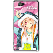 SO-02F-YCM2P9003-78 [XperiaZ1f用 ケース すーぱーそに子 SUPERSONICO NineLives]