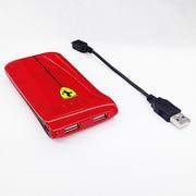 FEGLEB RE [2USBポート(USB出力:2ポート 最大合計:1A) リチウムバッテリー2500mAh]
