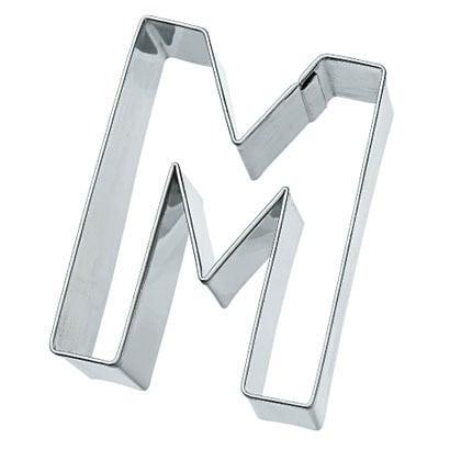 MQ-GB-196414 [ステンレスクッキー抜型 アルファベット M]