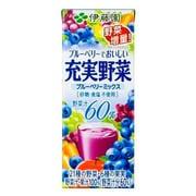 充実野菜ベリーミックスアルミレス紙200ml×24本
