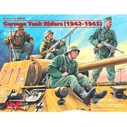 1/35 35634 ドイツ 戦車搭乗兵(1942-1945) [プラモデル]