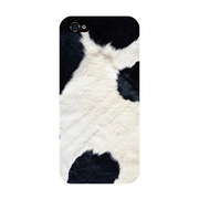ip5-0055-uvbase-cl Real skin Cow [iPhone5/5s用ケース]