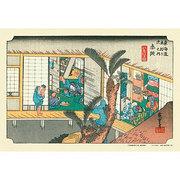 300-071 [ジグソーパズル 東海道五十三次 赤坂 「旅舎招婦ノ図」 300ピース]