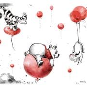 PSVita2000 Skin Balloons [PlayStation Vita2000用 ドレスアップシール]