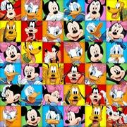PSVita2000 Skin Disney Friends [PlayStation Vita2000用 ドレスアップシール]