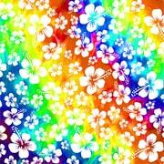 PSVita2000 Skin Aloha Swirl [PlayStation Vita2000用 ドレスアップシール]