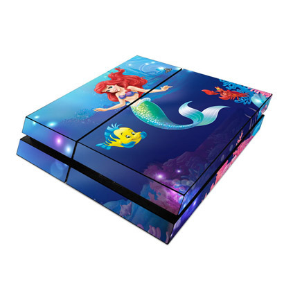 Play Station 4 Skin Little Mermaid [プレイステーション4用]