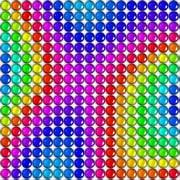 Play Station 4 Skin Rainbow Candy [プレイステーション4用]