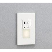 OB255071 [明暗センサー付LEDフットライト コンセント付 1W 電球色]