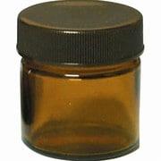 13-664-9010 [茶色ガラス クリーム容器 25mL]