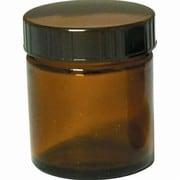 13-664-9020 [茶色ガラス クリーム容器 50mL]