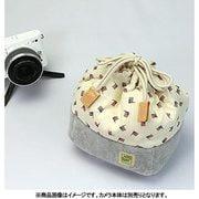 CKBM-FLBE [カメラ巾着袋M フラッグ/ベージュ カメラ用インナーケース]