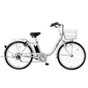 CES26SL [電動アシスト自転車 26型 外装6段変速 シルバー]
