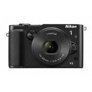 Nikon 1 V3 標準パワーズームレンズキット ブラック [ボディ+交換レンズ「1 NIKKOR VR 10-30mm f/3.5-5.6 PD-ZOOM」]