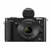 Nikon 1 V3 プレミアムキット ブラック [ボディ+交換レンズ「1 NIKKOR VR 10-30mm f/3.5-5.6 PD-ZOOM」+電子ビューファインダー「DF-N1000」+グリップ「GR-N1010」]