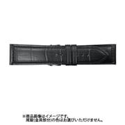 BKM56A-U [時計バンド スコッチガード 型押し マットモデル 黒 22mm]