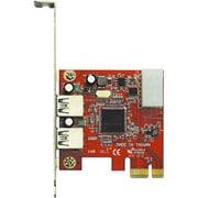 USB3.0E-P2-PCIE [EtronTech社製 EJ168搭載 USB3.0x2 インターフェースボード(PCI-Expressx1接続)]