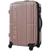 H0010T-55 123 [スーツケース 旅行日数目安:2~3泊 52L/59L(拡張時) TASロック搭載 カフェリボンラテ]