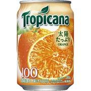 トロピカーナ 100%オレンジ 缶 280g×24本 [果汁飲料]
