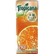 トロピカーナ 100%オレンジ 紙パック 250ml×24本 [果汁飲料]