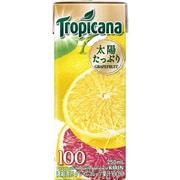 トロピカーナ 100%グレープフルーツ 紙パック 250ml×24本 [果汁飲料]