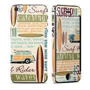 iPhone 5S Skin Surf Words [Apple iPhone 5s用 ドレスアップシール]