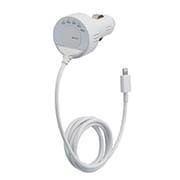 BSFMIP03WH2 [iPod/iPhone用FMトランスミッター Lightningコネクター接続 ホワイト]