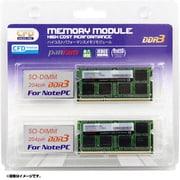 W3N1333PS-8G [ノートパソコン用 メモリ DDR3-1333 204pin SO-DIMM 8GB 2枚入り]