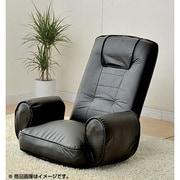 MTH67(BK) [低反発 肘付座椅子 ブラック]