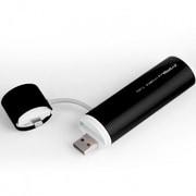 SP2600-O-L-BK [POWERTUBE 2600mAh USB出力:1ポート 最大:1A LIGHTNING - BLACK]