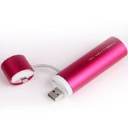 SP2600-O-L-RD [POWERTUBE 2600mAh USB出力:1ポート 最大:1A LIGHTNING - RED]
