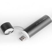 SP2600-O-L-GR [POWERTUBE 2600mAh USB出力:1ポート 最大:1A LIGHTNING - CHARCOAL GREY]
