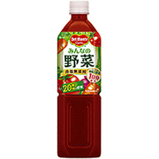みんなの野菜 [野菜果汁飲料 900g×12本]