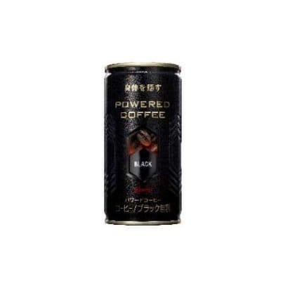パワードコーヒー ブラック無糖 190g×30本 [コーヒー飲料]