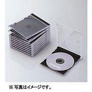 CCD-JSCN10BK [Blu-ray/DVD/CDプラケース (1枚収納/10パック) ブラック]