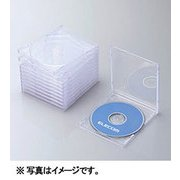 CCD-JSCN10CR [Blu-ray/DVD/CDプラケース (1枚収納/10パック) クリア]
