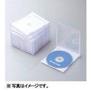 CCD-JSCN10WH [Blu-ray/DVD/CDプラケース (1枚収納/10パック) ホワイト]