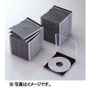 CCD-JSCN30BK [Blu-ray/DVD/CDプラケース (1枚収納/30パック) ブラック]