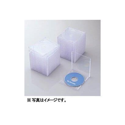 CCD-JSCN30CR [Blu-ray/DVD/CDプラケース (1枚収納/30パック) クリア]