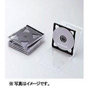 CCD-JSCNW5BK [Blu-ray/DVD/CDプラケース (2枚収納/5パック) ブラック]