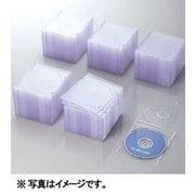 CCD-JSCS100CR [Blu-ray/DVD/CDスリムプラケース (1枚収納/100パック) クリア]