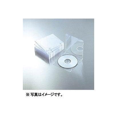 CCD-JSCS10CR [Blu-ray/DVD/CDスリムプラケース (1枚収納/10パック) クリア]