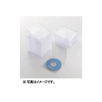 CCD-JSCS50CR [Blu-ray/DVD/CDスリムプラケース (1枚収納/50パック) クリア]
