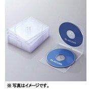 CCD-JSCSW10CR [Blu-ray/DVD/CDスリムプラケース (2枚収納/10パック) クリア]
